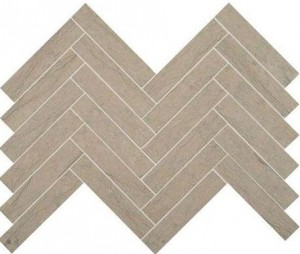 Gray Virtue Chevron Mosaic